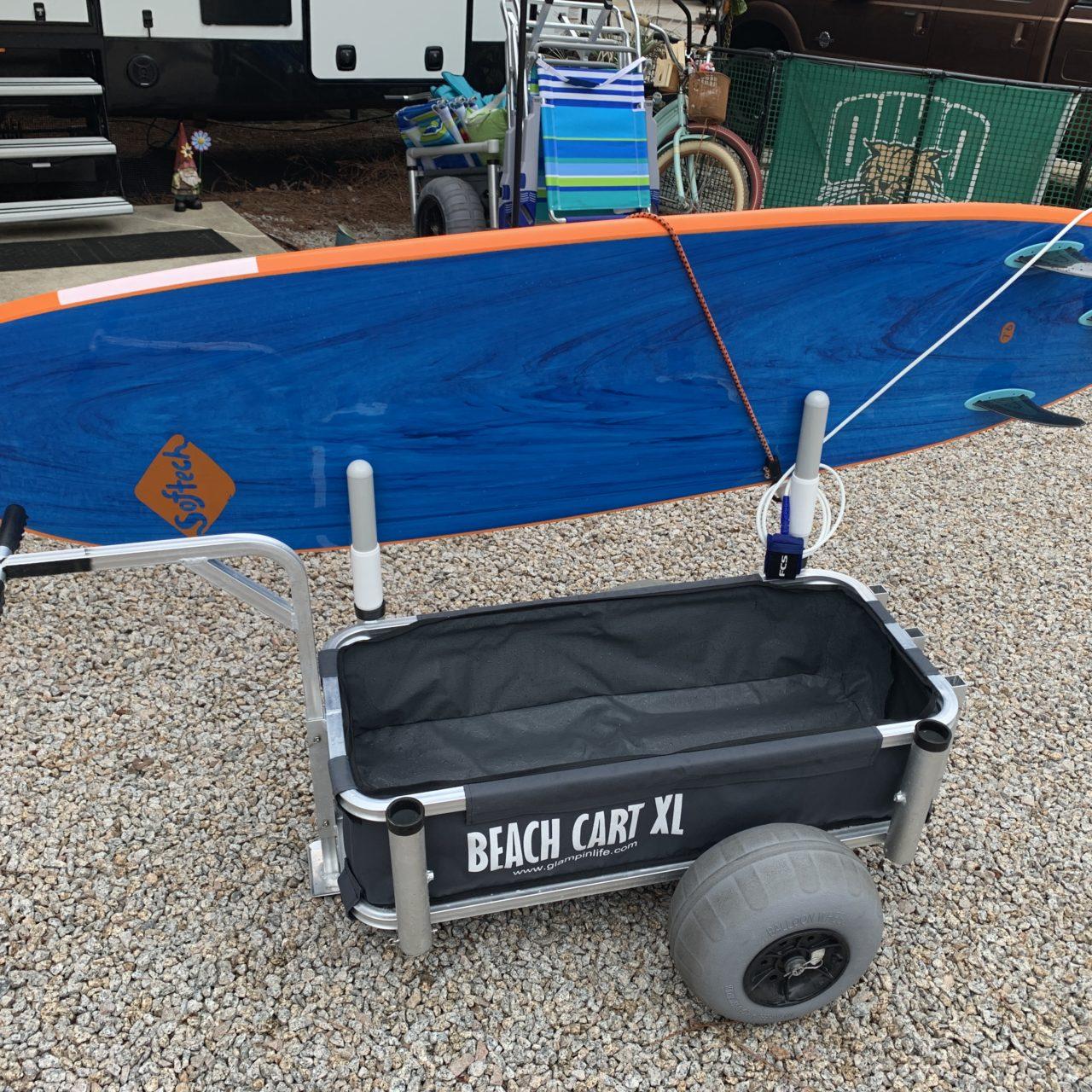 Surfboard Rack | Beach Cart Utility Rack