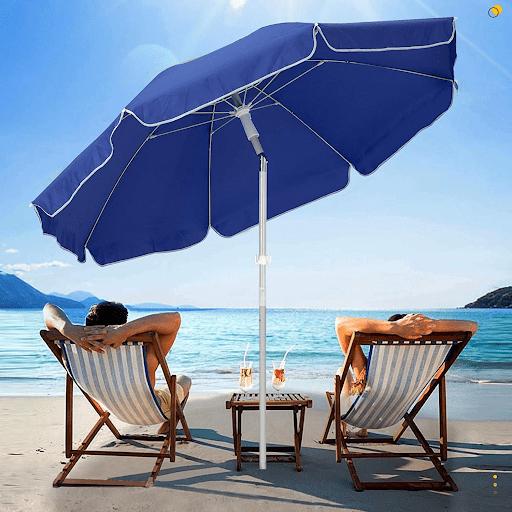 canopy beah umbrella