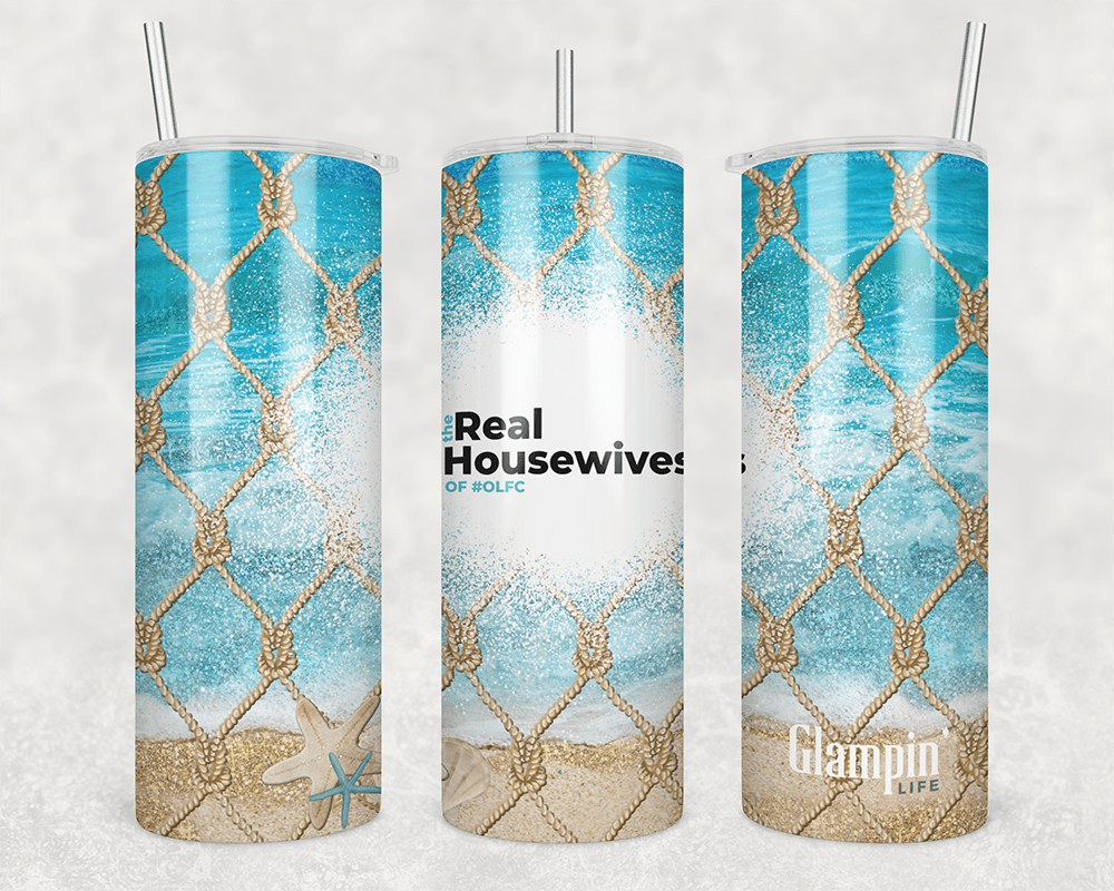The Real Housewives of #OLFC - Skinny 20oz Tumbler